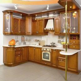 實木廚房 櫥柜定制縮略圖