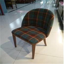 北欧实木椅子主题茶餐厅咖啡西餐厅奶茶火锅饭店餐饮桌椅缩略图