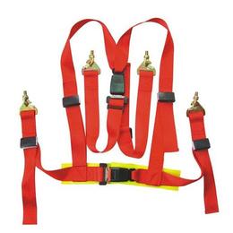 河北易创电力电工安全带 全身式安全带 白色双背安全带批发