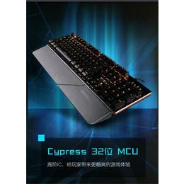 磁动力ZK1900光轴机械键盘防水防尘网吧网咖专用游戏键盘
