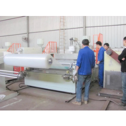 供应优质气垫膜生产qy8千亿国际1000mm聚乙烯气泡膜机组气泡膜机