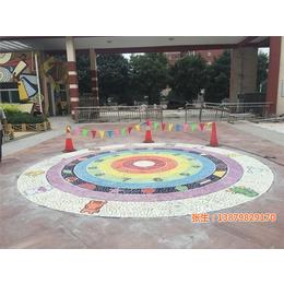 池州鹅卵石,景德镇市申达陶瓷厂 ,圆形鹅卵石拼图