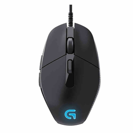 罗技G302有线游戏鼠标USB电竞背光宏编程电脑绝地求生