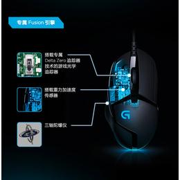 罗技G402 电脑电竞宏编程绝地求生 LOL CF游戏鼠标