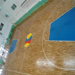 北京欧氏地板篮球木地板新款