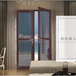 金钢网门窗成品定做  平开门