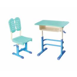 全新手摇式单人塑料课桌椅缩略图