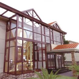 广东盛世莱 系统门窗系统阳光房001  南昌门窗订制