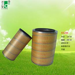 中山滤之圣过滤器K3244  空压机塑料机 除尘滤芯滤筒