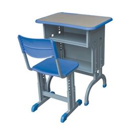 套管式课桌椅带背靠椅