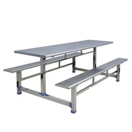 八位条形不锈钢餐桌缩略图