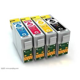 济宁供应惠普佳能爱普生喷墨打印机原装墨盒墨水国产墨水电话