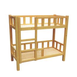 幼儿园实木双层床