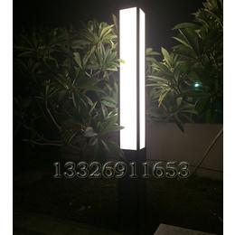 户外3米绿化景观灯简约风方形景观灯柱超亮透光云石小区庭院灯缩略图