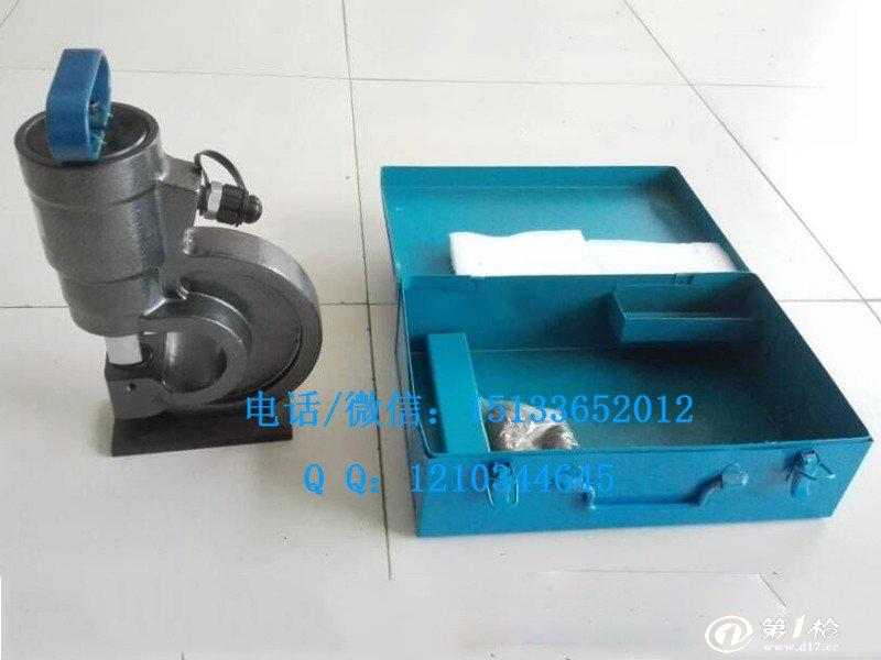 电动打孔机器含油管 液压冲孔机 小型角钢角铁打孔机图片