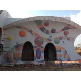 鹅卵石图画、景德镇市申达陶瓷厂 、南昌鹅卵石