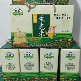 明嘉农业 尔康生态米不抛光初级打磨不做漂亮米只做放心饭