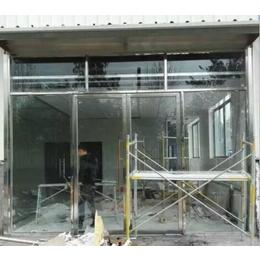 南昌地弹门、江西汇投钢化玻璃质优、不锈钢地弹门价格