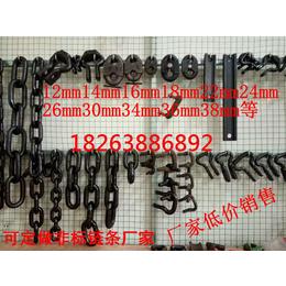厂家SGB630型22mm矿用链条开口连接环-弧齿环-锯齿环