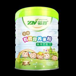 婴儿辅食金典钙铁锌有机营养米粉米糊缩略图