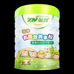 婴儿辅食金典有机营养蛋黄双歧因子米粉米糊缩略图