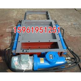 水利专用600x600电液动平板闸门600手动插板阀