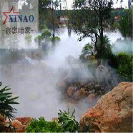 喷雾造景设备 小区楼盘雾森系统