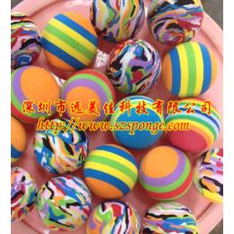 低价EVA迷彩玩具球与EVA海绵玩具球的差别在于以下几点