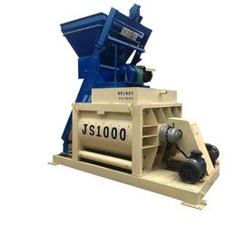 JS1000混凝土搅拌机操作中需要注意哪些问题