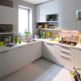 实木定制厨房橱柜