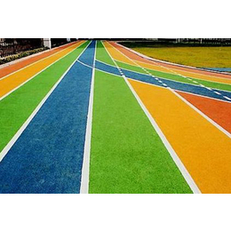 200米塑胶跑道面积|塑胶跑道|博森建材塑胶球场(查看)