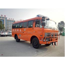 东风19座柴油四驱越野客车 4驱国五5吨越野巴士