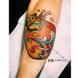 水彩新传统  纹身缩略图