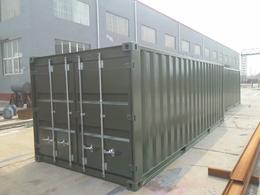 标准集装箱定制箱体颜色LOGO可自由定制沧州信合集装箱厂家