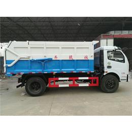8立方含水污泥运输车生产厂家