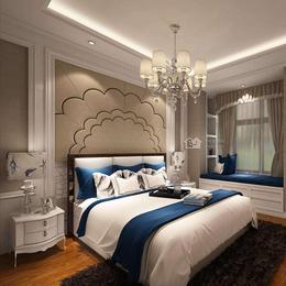 定制卧室床头软包背景墙装饰卧室沙发软包欧式电视背景墙硬包缩略图