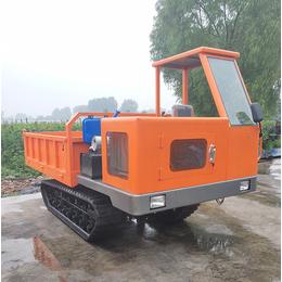混凝土橡胶履带运输车在水田行走自如 济宁格林伟瑞机械
