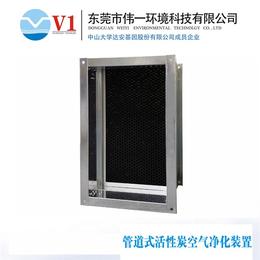 伟一、管道式活性炭空气净化器价格、管道式活性炭空气净化器