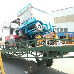 辽宁省8吨装卸过桥直销 星汉8吨登车桥制造厂家