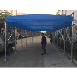 杭州市红干区移动伸缩雨蓬大型雨棚 大排档雨棚  大型仓库帐蓬缩略图