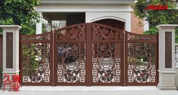 小区悬浮折叠门+菏泽悬浮折叠门生产厂家-久瑞门业