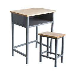 单人固定课桌椅