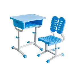 新款塑钢学生课桌椅