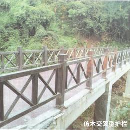 仿木交叉型护栏缩略图