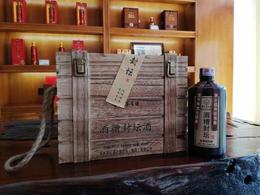 酒糟封坛酒 木箱包装 一箱6瓶