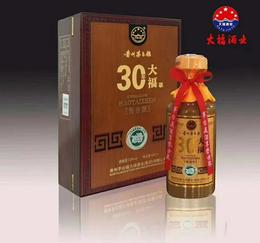 百年大福30年 礼盒 一箱4瓶
