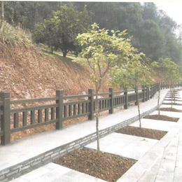 仿木长廊护栏