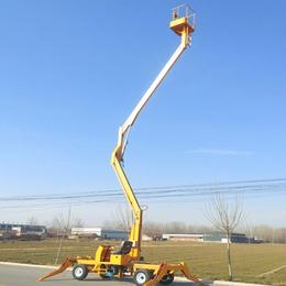 14米柴油机驱动升降机 福建市全自行高空作业平台设计