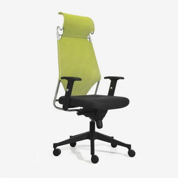 2018新款滚轮绿色靠背办公室办公椅缩略图