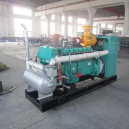 江苏120kw千瓦电热联产燃气发电机组 猪场废水处理用发电机